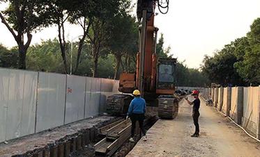 广西建工总承包邕江引水工程一期(江北大道段)8