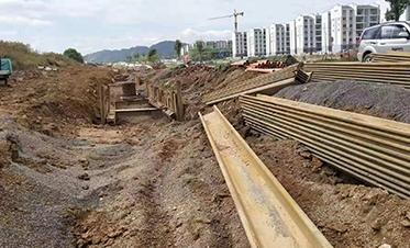 广西建工四建融安县城长安大道道路工程(二期)1