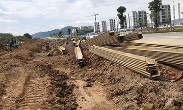 广西建工四建融安县城长安大道道路工程(二期)2