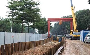 广西建工总承包邕江引水工程一期(江北大道段)4
